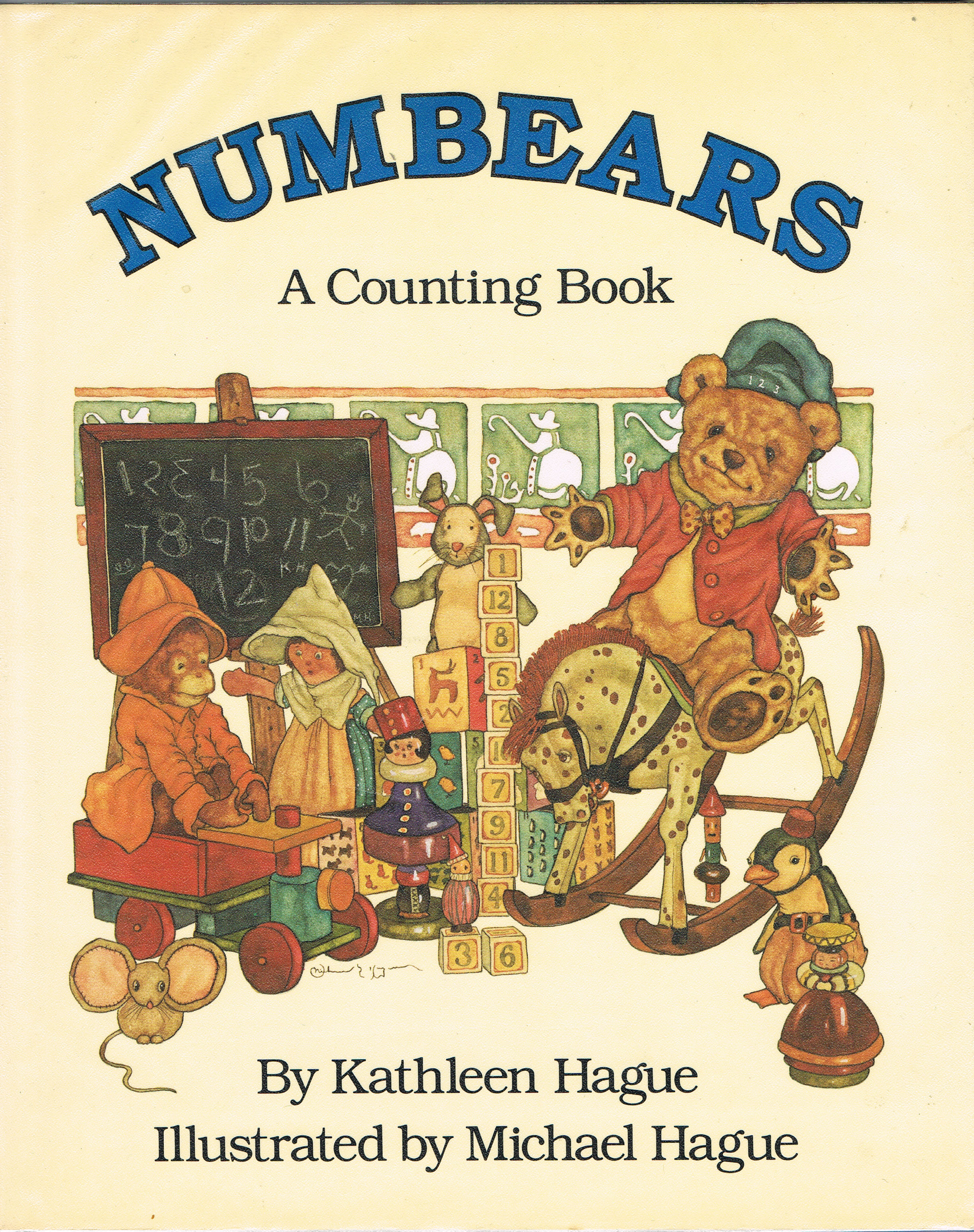 Image for Numbears: A Counting Book
