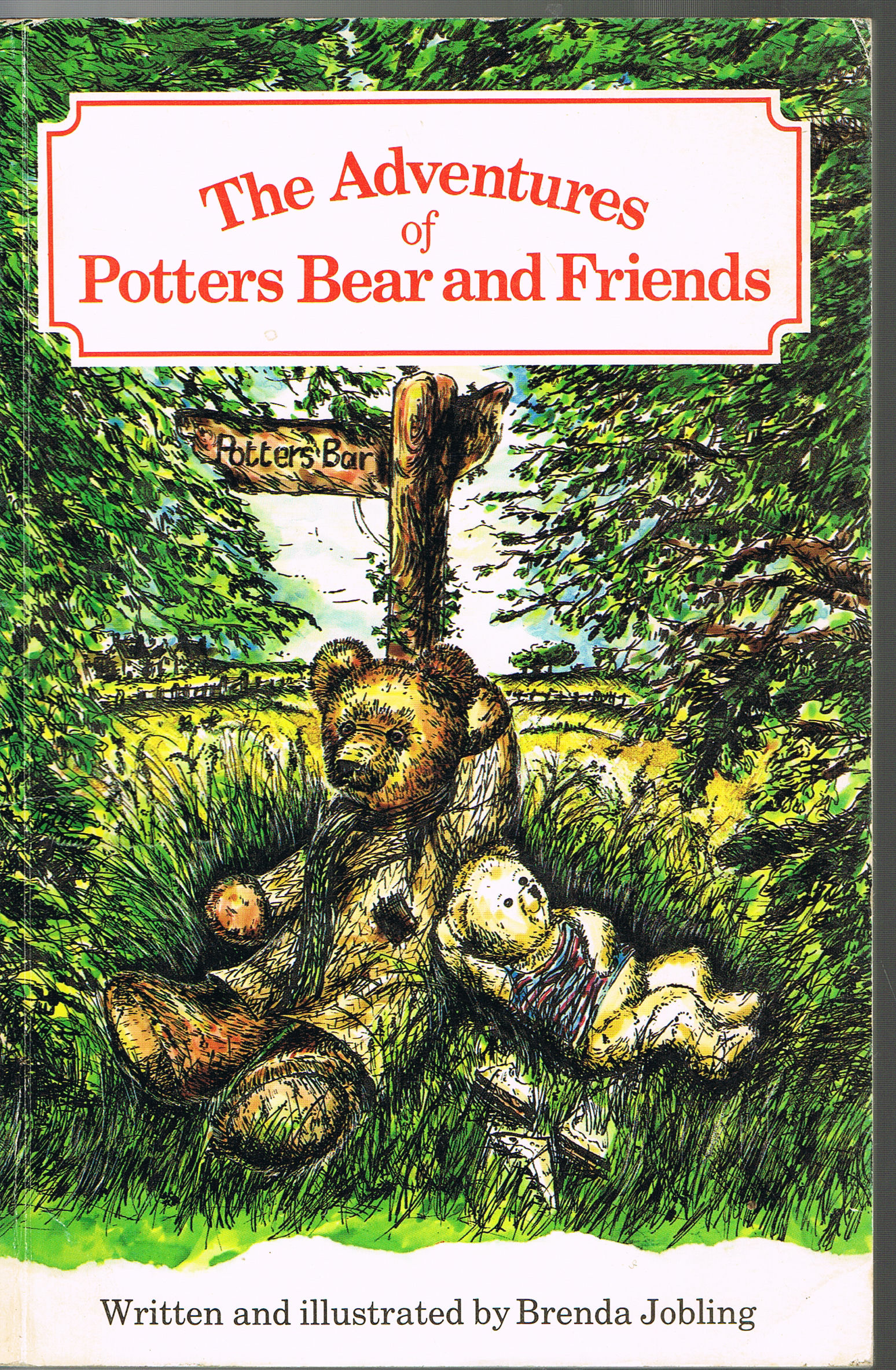 Image for The Adventures of Potters Bear and Friends