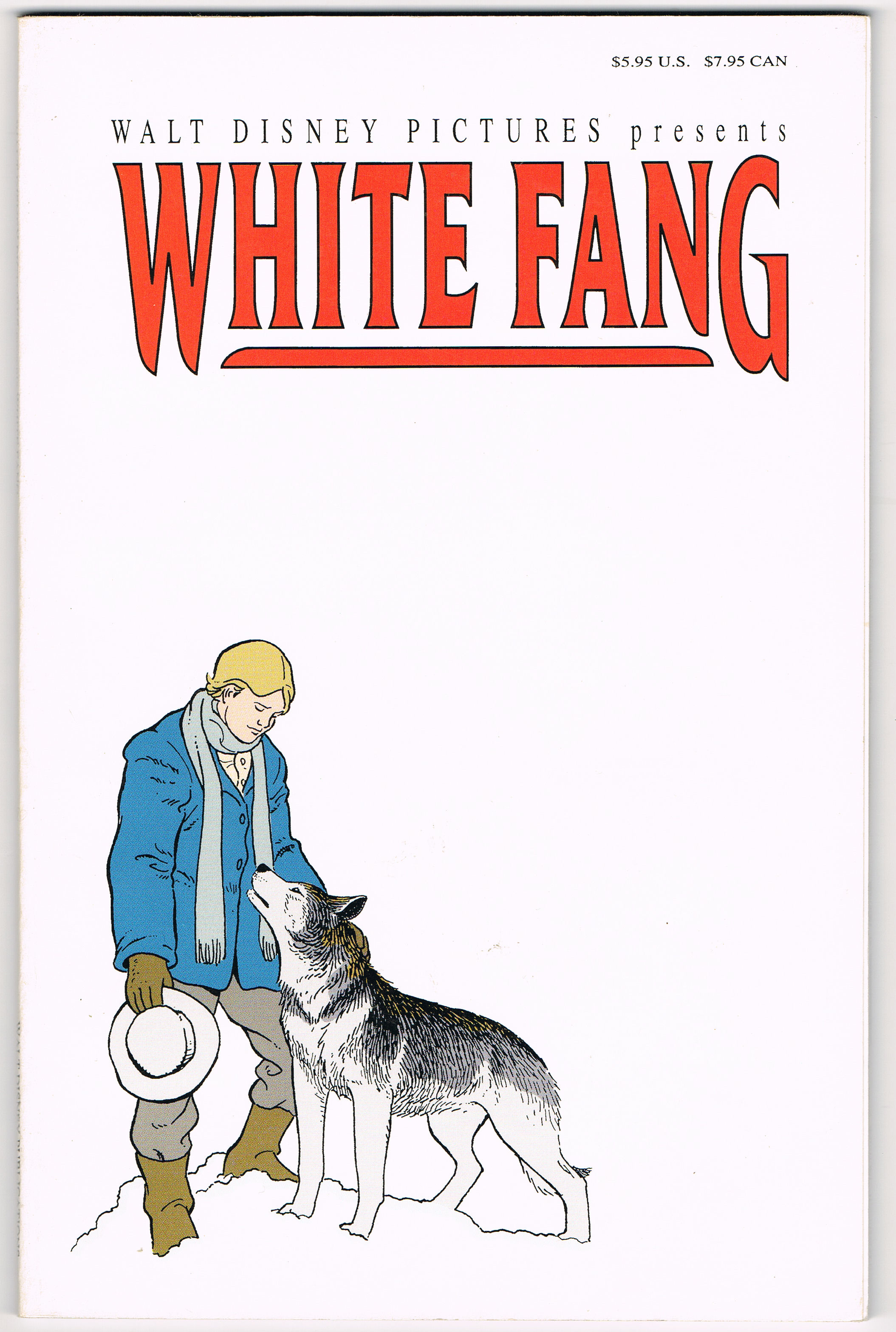 Image for Walt Disney Pictures Presents White Fang