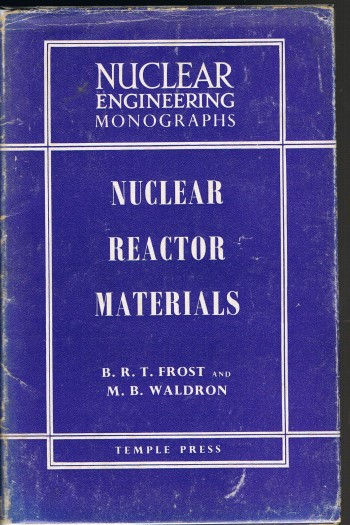 Image for Nuclear Reactor Materials