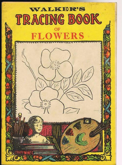 Image for Walker's Tracing Book of Flowers: Tracing Book No.32