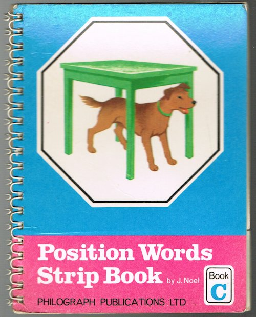 Image for Position Words Strip Book: Book C