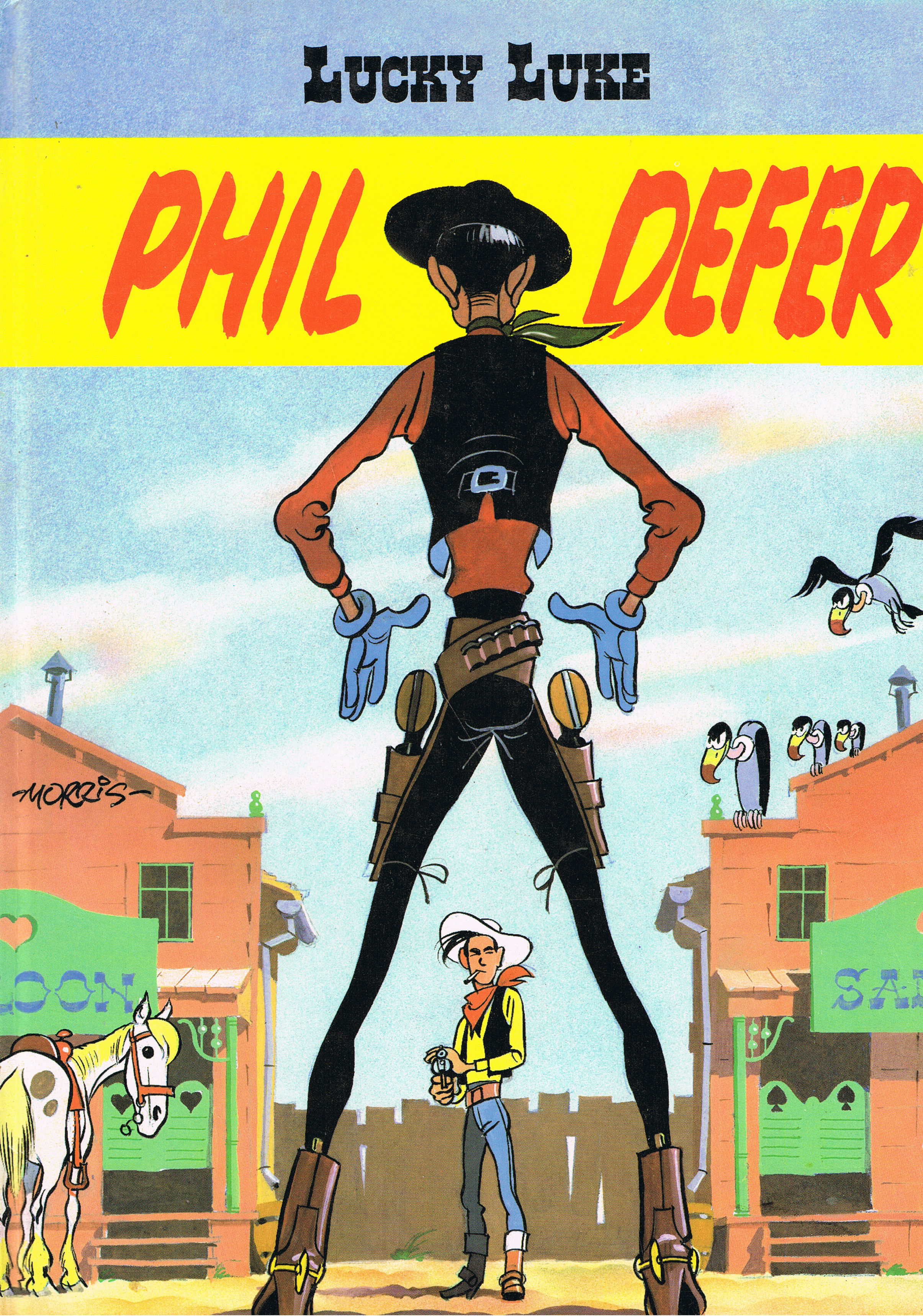 "Image for Lucky Luke: Phil Defer ""Le Faucheux"""