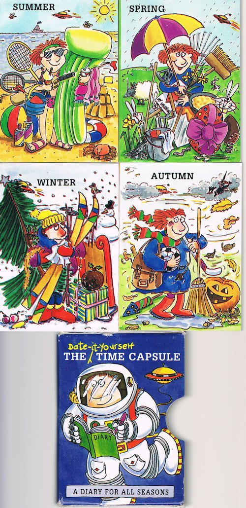 Image for The Date-It-Yourself Time Capsule : A Diary for All Seasons