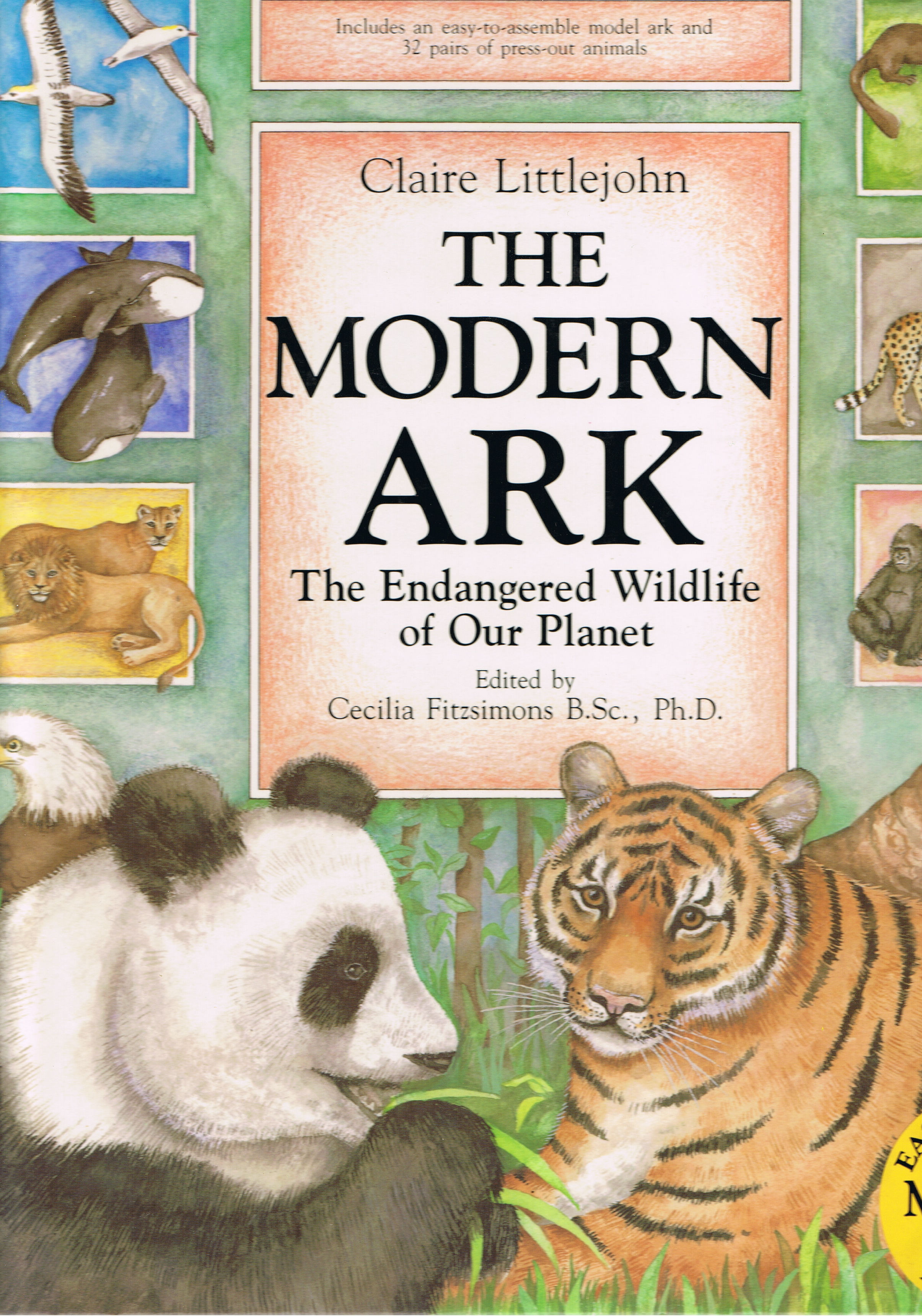 Image for The Modern Ark: The Endangered Wildlife of Our Planet