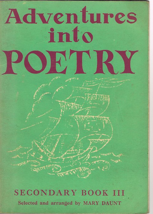 Image for Adventures Into Poetry: Secondary Book III