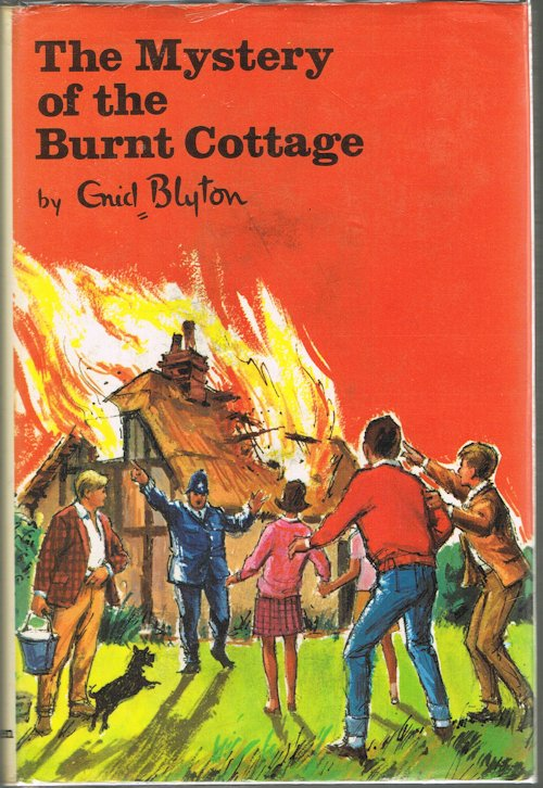 Image for The Mystery of the Burnt Cottage : The First Adventure of the Five Find-Outers and Dog