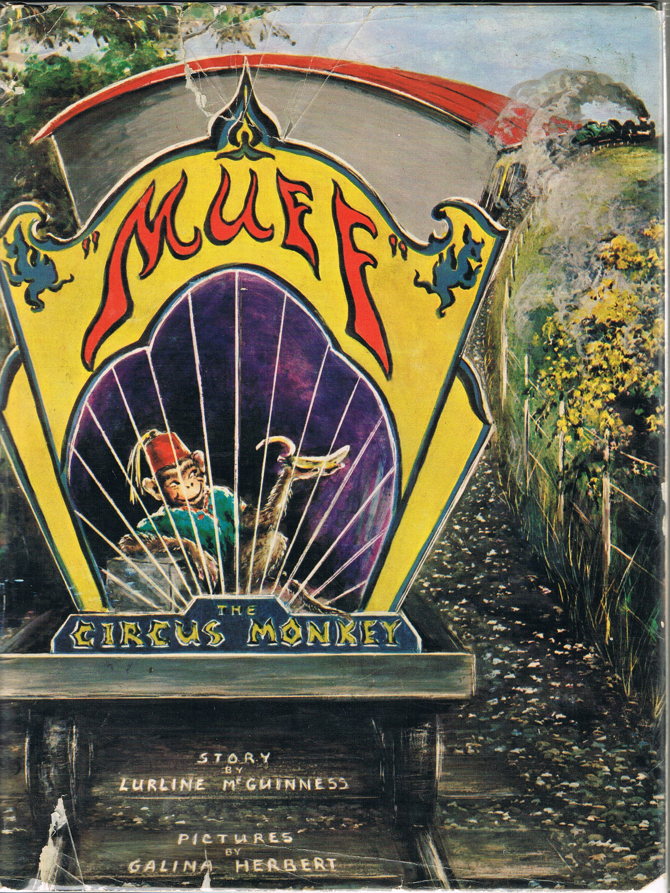 Image for Muff the Circus Monkey