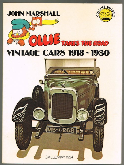 Image for Ollie Takes the Road: Vintage Cars 1918-1930