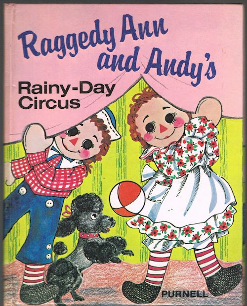 Image for Raggedy Ann and Andy's Rainy-Day Circus
