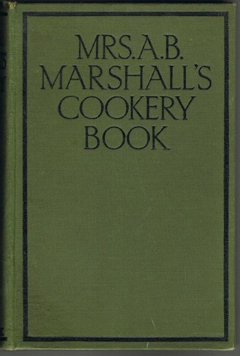 Image for Mrs A.B.Marshall's Cookery Book