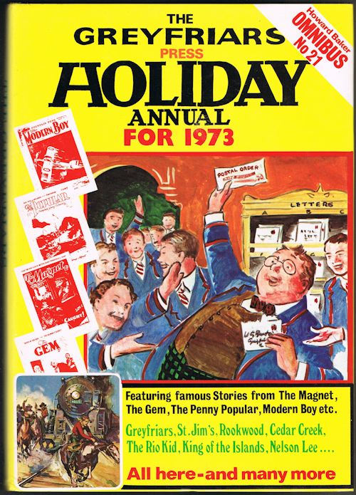 Image for The Greyfriars Press Holiday Annual for 1973 (Howard Baker Omnibus No.21)