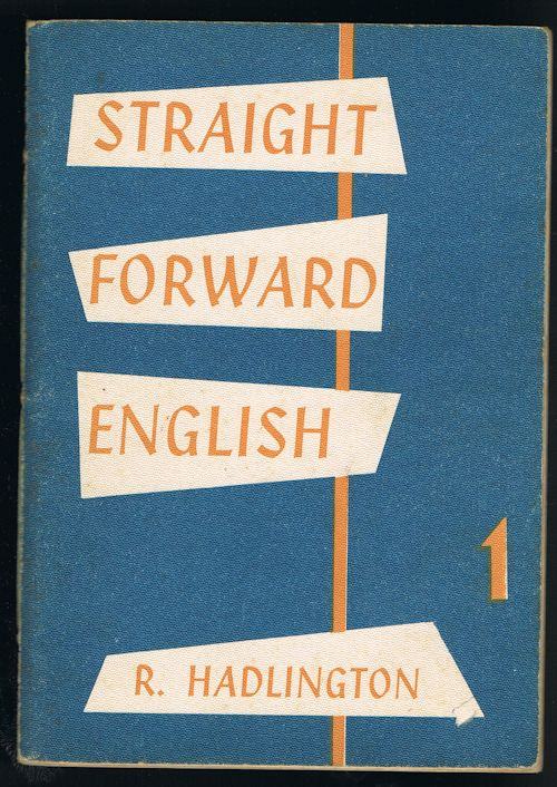 Image for Straight Forward English: Book 1