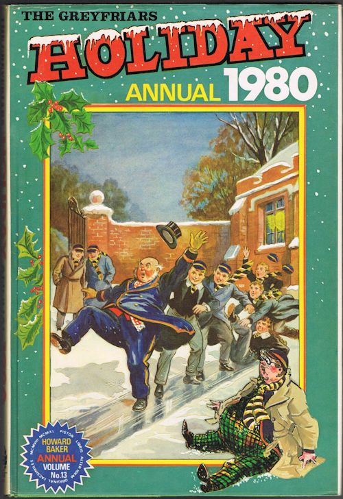 Image for The Greyfriars Holiday Annual 1980 (Howard Baker Annual Volume No.13)