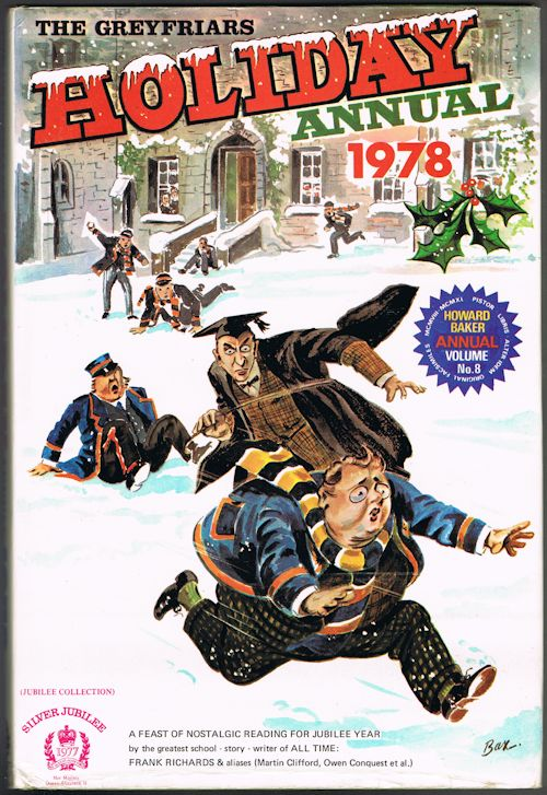 Image for The Greyfriars Holiday Annual 1978 (Howard Baker Annual Volume No. 8)