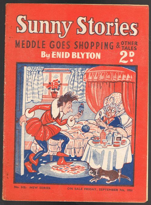 Image for Sunny Stories: Meddle Goes Shopping & Other Tales (No. 515 New Series: Sep 7th 1951)