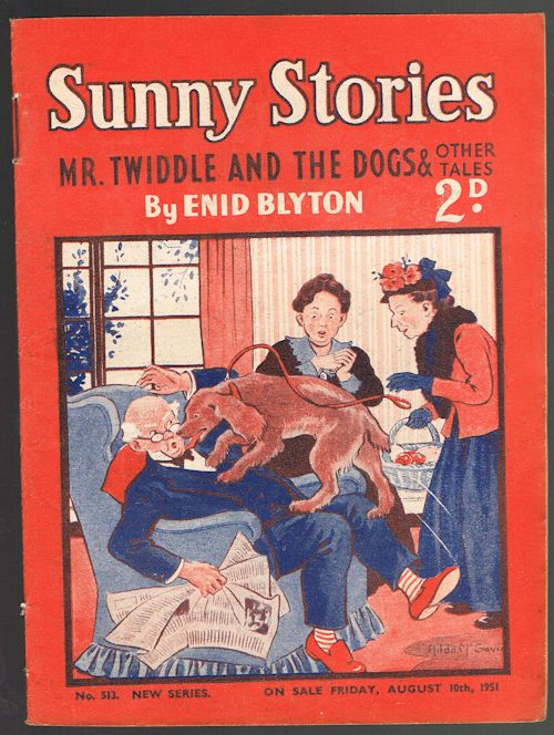 Image for Sunny Stories: Mr Twiddle and the Dogs & Other Tales (No. 513 New Series: Aug 10th 1951)