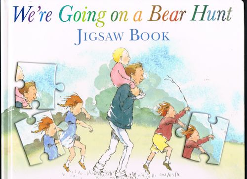 Image for We're Going on a Bear Hunt Jigsaw Book