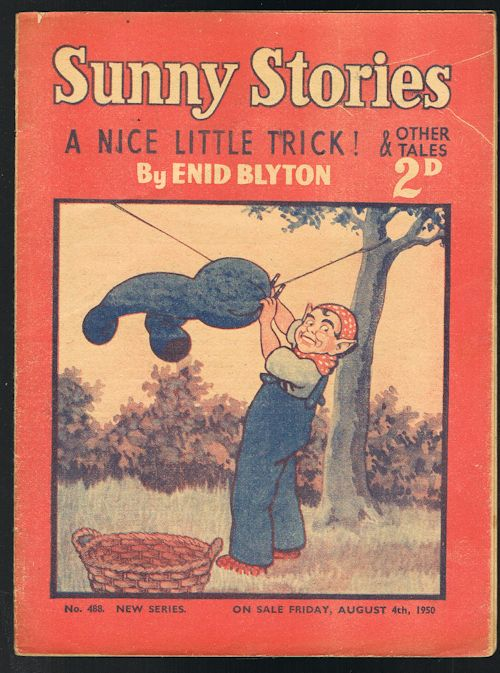 Image for Sunny Stories: A Nice Little Trick! & Other Tales (No. 488: New Series: Aug 4th, 1950)