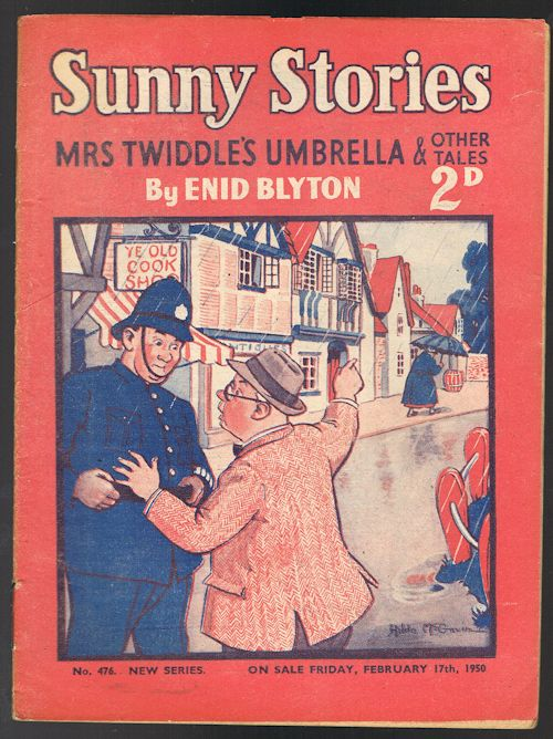 Image for Sunny Stories: Mrs Twiddle's Umbrella & Other Tales (No. 476: New Series: Feb 17th, 1950)