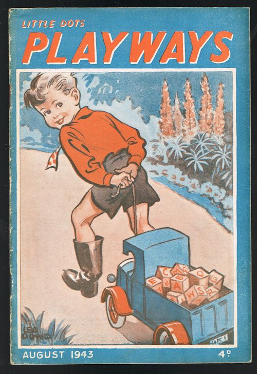 Image for Little Dots Playways August 1943