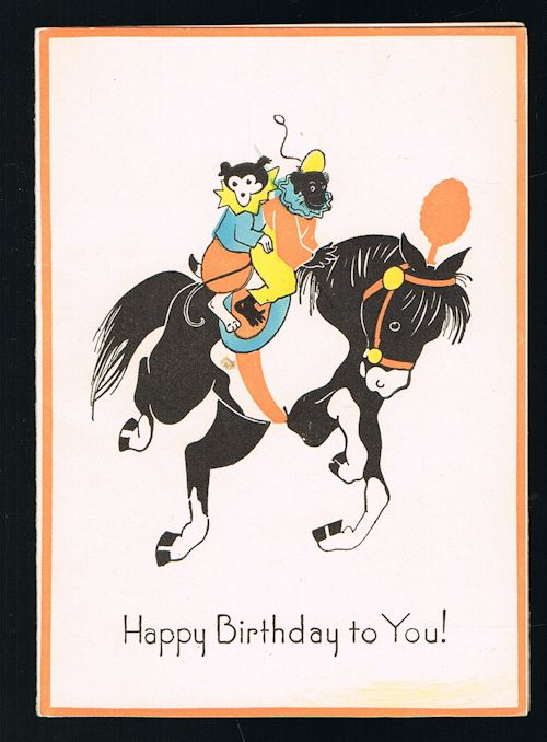Image for Birthday Greetings Card - Circus