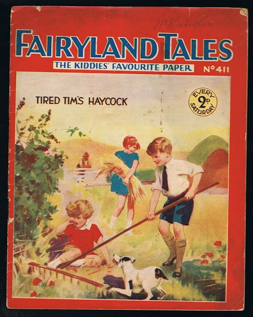 Image for Fairyland Tales No.411: Tired Tim's Haycock