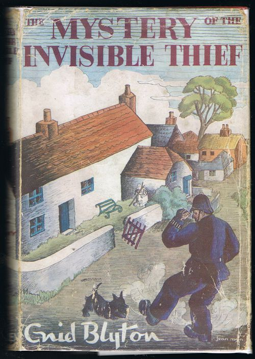 Image for The Mystery of the Invisible Thief - Being the Eighth Adventure of the Five Find-Outers and Dog