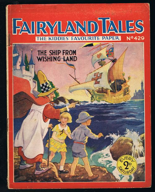Image for Fairyland Tales No.429: The Ship from Wishing Land