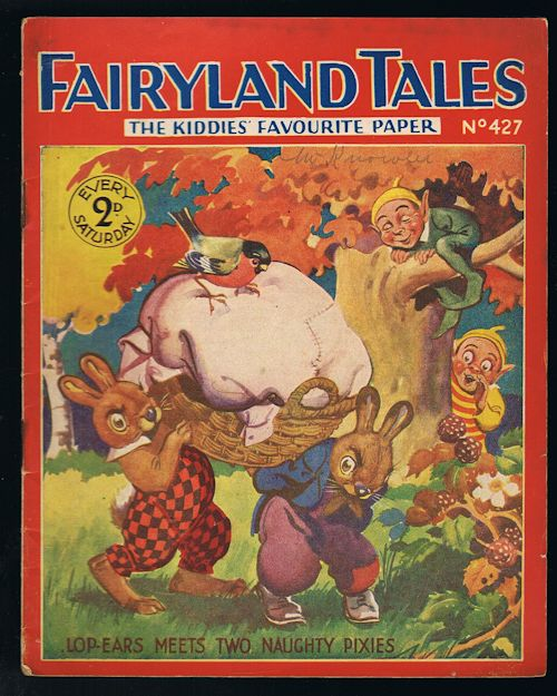 Image for Fairyland Tales No.427: Lop-Ears Meets Two Naughty Pixies