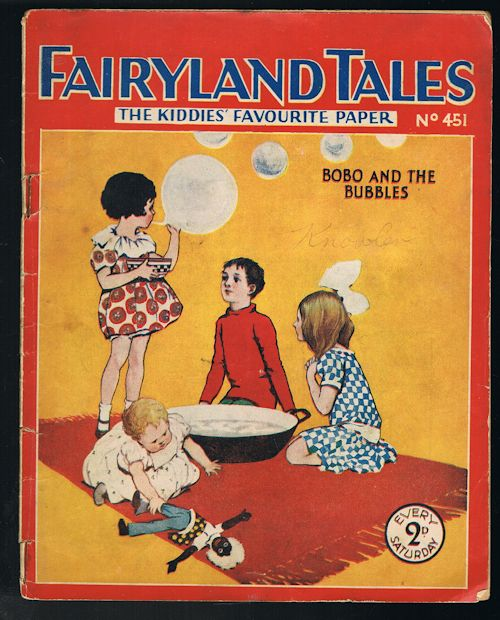Image for Fairyland Tales No.451: Bobo and the Bubbles