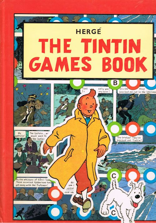 Image for The Tintin Games Book