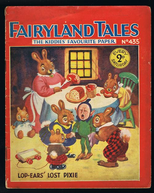 Image for Fairyland Tales No.435: Lop-Ears' Lost Pixie