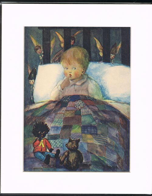 Image for Bedtime Fairies (Mounted Illustration from The Jolly Picture Book)