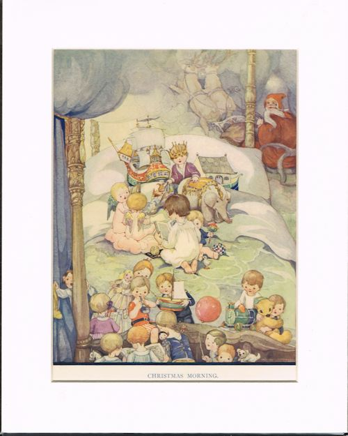 Image for Christmas Morning (Mounted Illustration from The Wonder Book)