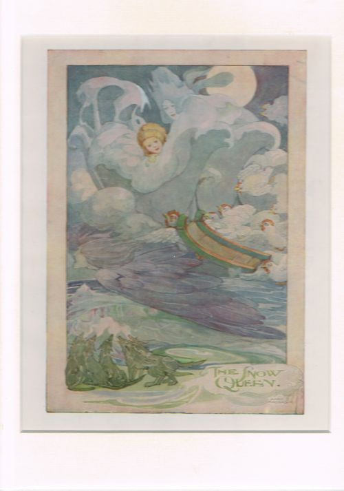 Image for The Snow Queen (Mounted Illustration from The Anne Anderson Picture Book)