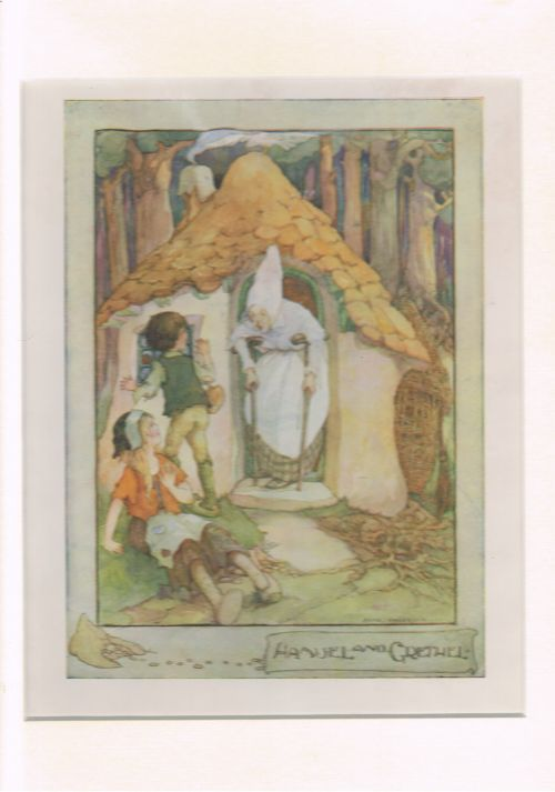 Image for Hansel and Gretel (Mounted Illustration from The Anne Anderson Picture Book)