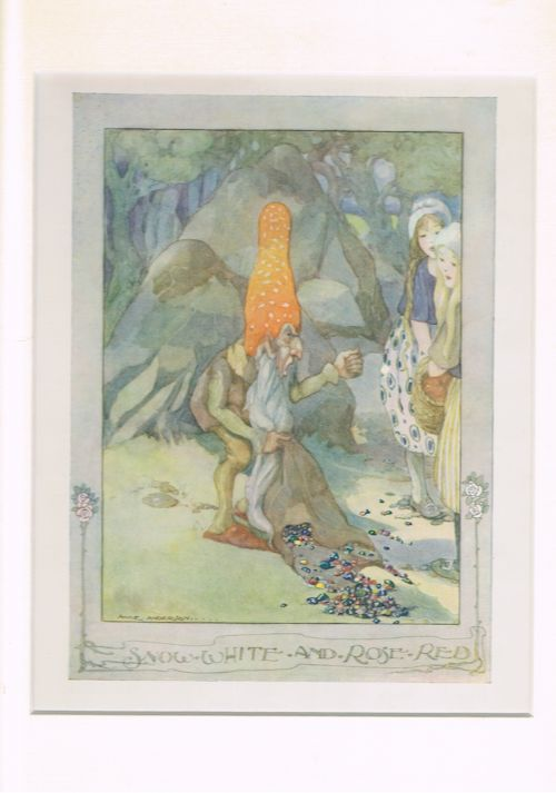 Image for Snow White and Rose Red (Mounted Illustration from The Anne Anderson Picture Book)