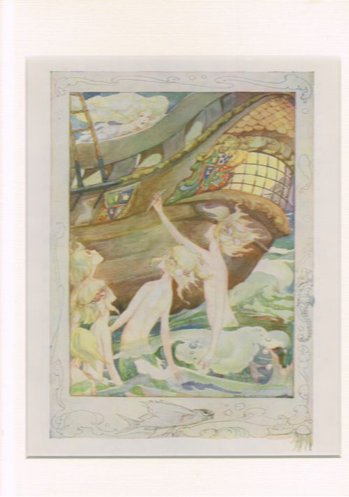 Image for The Little Mermaid 2 (Mounted Illustration from The Anne Anderson Picture Book)