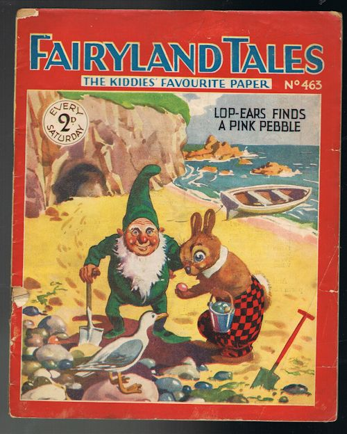 Image for Fairyland Tales No.463: Lop-Ears Finds a Pink Pebble