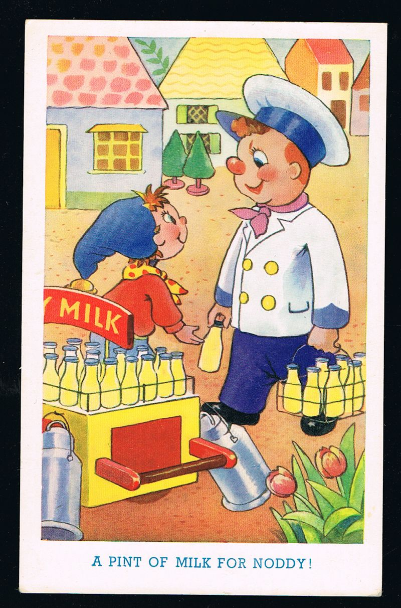 Image for A Pint of Milk for Noddy Postcard