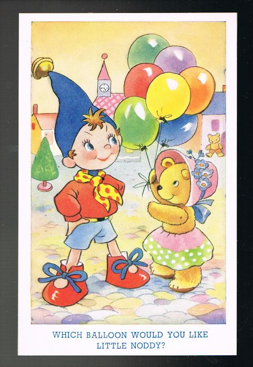 Image for Which Balloon Little Noddy Postcard