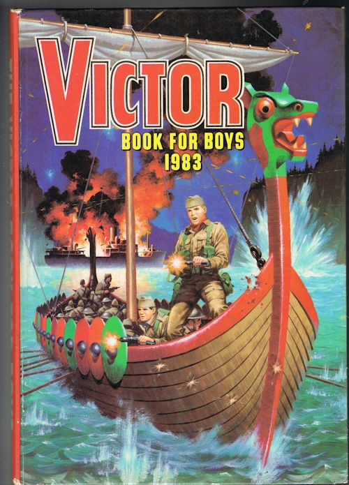 Image for Victor Book for Boys 1983