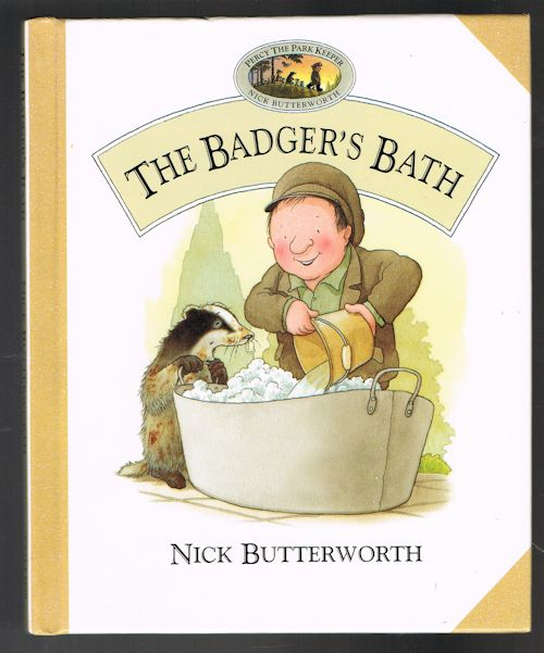 Image for The Badger's Bath (Percy the Park Keeper)
