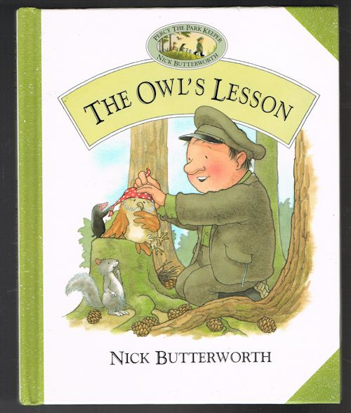 Image for The Owl's Lesson (Percy the Park Keeper)