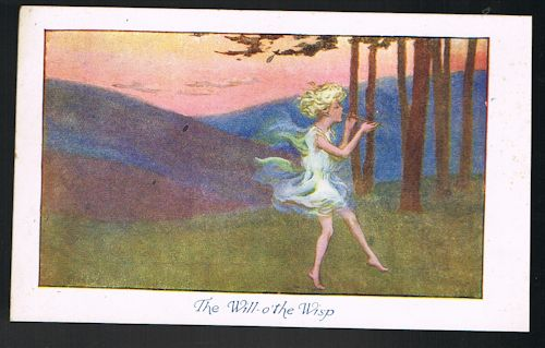 The Will-o'the Wisp Postcard