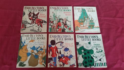 Image for Enid Blyton's Little Books No.1 - 6 (Set of 6)
