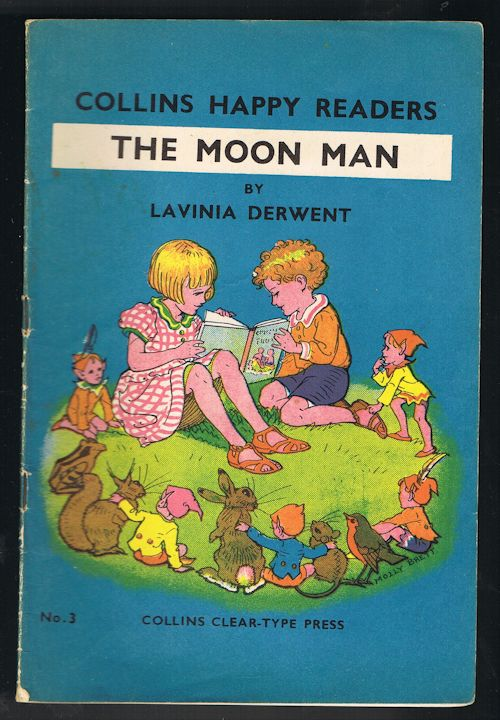 Image for The Moon Man - Collins Happy Readers No. 3