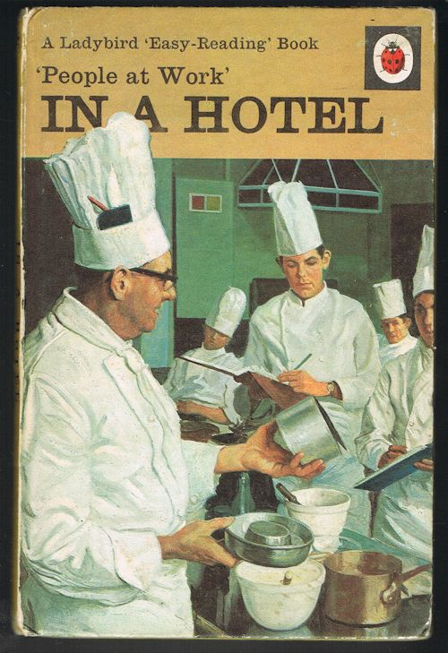 Image for In a Hotel - People at Work Ladybird Series 606B