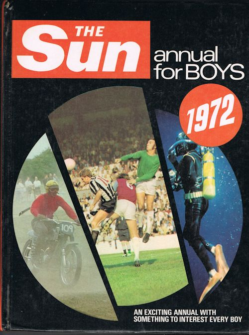 Image for The Sun Annual for Boys 1972